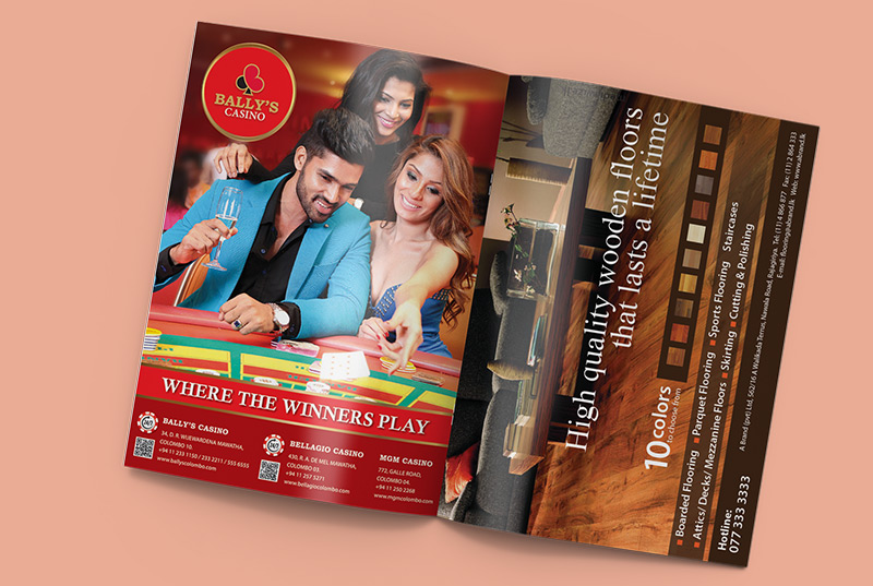 Magazine and Paper Advertisement design