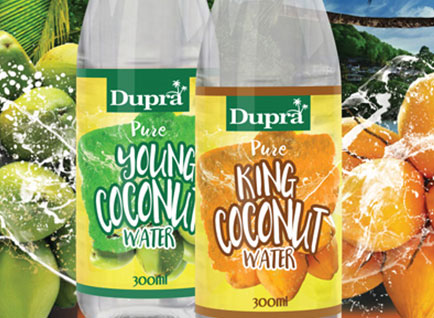 King Coconut & Young Coconut Water Label Design