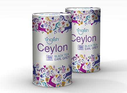 Tinglish Tea Packaging