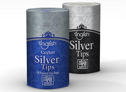 Tinglish Tea Packaging Design