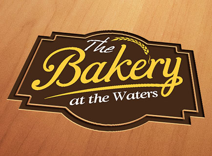 Waters Edge Bakery Logo Design