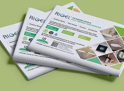 Belrig Press Advertisment Design