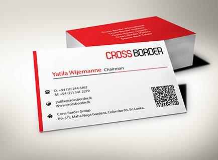 Crossborder International Business Card Design