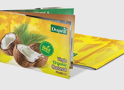 Dupra Product Brochure Design
