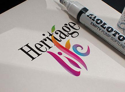 Heritage Life Logo Design