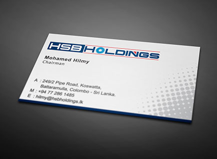 HSB Holdings Business Card Design