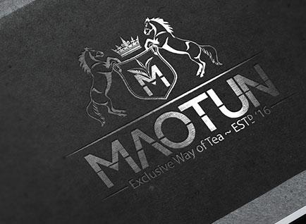 Maotun Tea Brand Logo Design