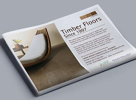 A-brand Newspaper Advertisment Design