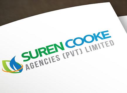 Suren Cooke Agencies Corporate Logo Design