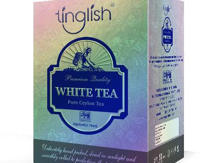 Tinglish Tea Box Pacakging Design