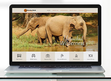 Luxury Camping Website Designwww.pardusseek.com