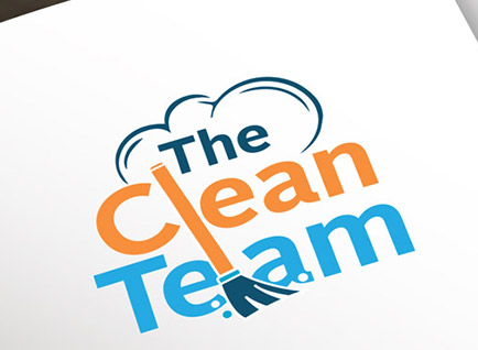 The Clean Team Business Logo Design