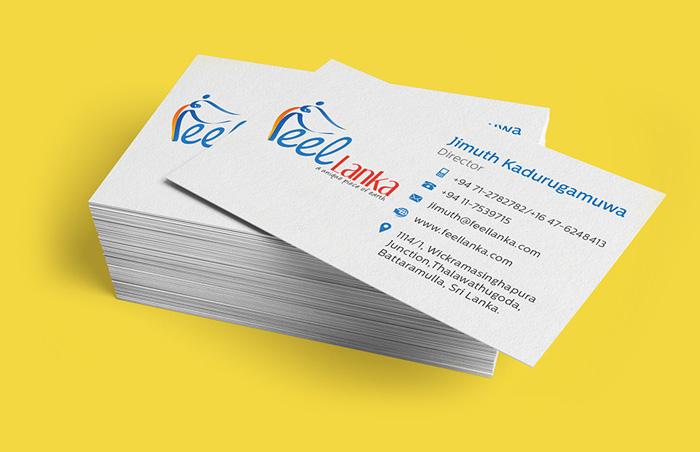 Business card design in Sri Lanka