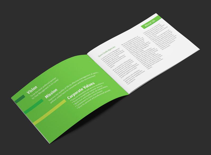 Company Profile Design in Sri Lanka