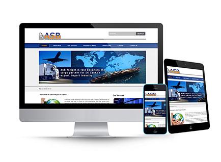 ASB Colombo Website Design