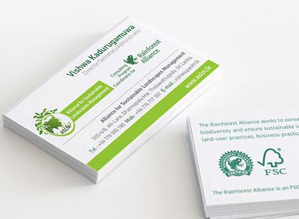 ASLM Business Cards Design