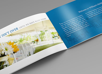 Williams Company Profile Design