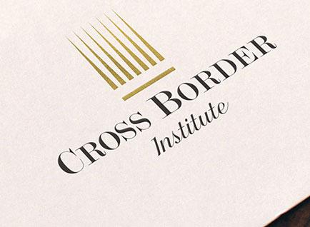 Cross Border Institute Logo Design