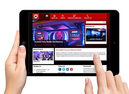 Live Event Pro Website Designwww.liveeventspro.com