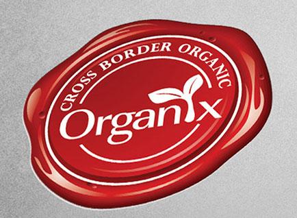 Cross Border Organix Logo Design