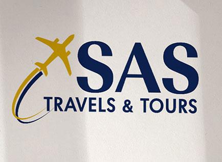 SAS Travels Logo Design