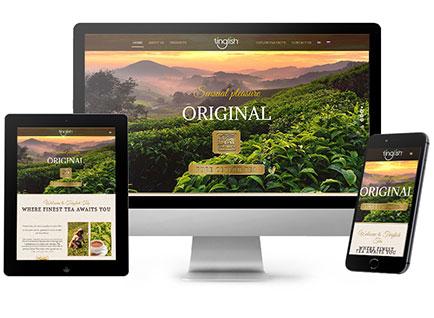 Tinglish Tea Website Designwww.tinglishtea.com
