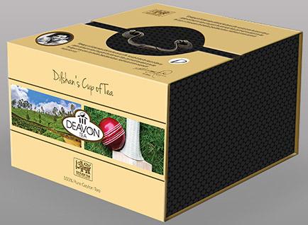 Devon Tea Gift Box Packaging Design