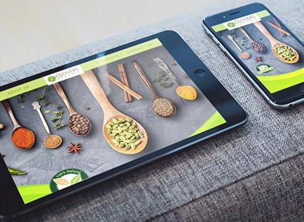 Clovers Organic Website Designwww.cloversorganic.com