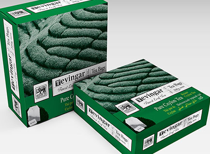 Tevingar Tea Packaging Design
