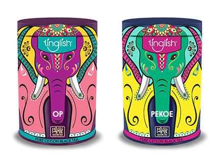 Tinglish Tea Caddy Box Packaging Design