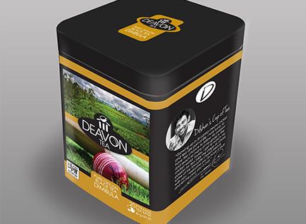 Deavon Tea Caddy Packaging Design