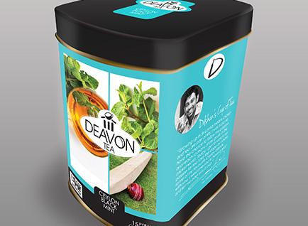 Deavon Tea Caddy Packaging Design2