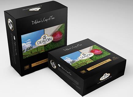 Deavon Tea Box Packaging Design