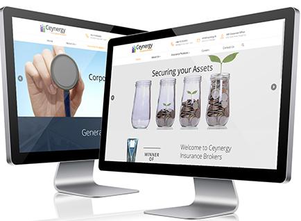 Ceynergy Insurance Brokers Website Designwww.ceynergy.lk/CIB